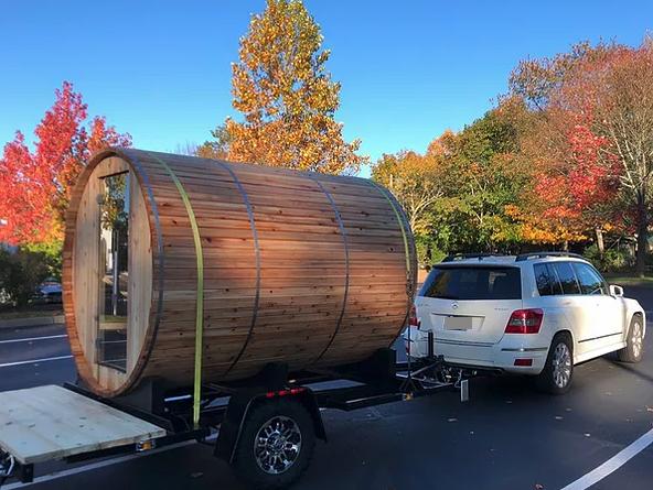 Sintija Robina Barrel Sauna